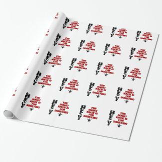 Papier Cadeau Le support accroupi est pour Squating