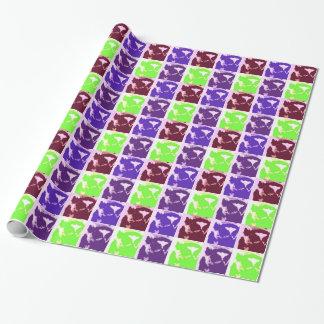 Papier Cadeau Lémurs d'art de bruit