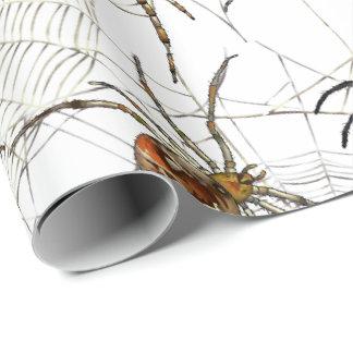 Papier Cadeau Les araignées prennent le papier d'emballage mat,