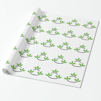 Papier Cadeau Logo amical d'affaires d'Eco