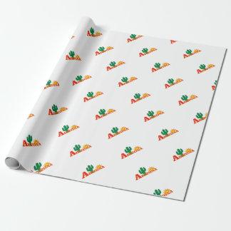 Papier Cadeau Logo de l'Arizona simple