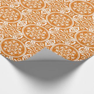 Papier Cadeau Mandala de tarte de citrouille