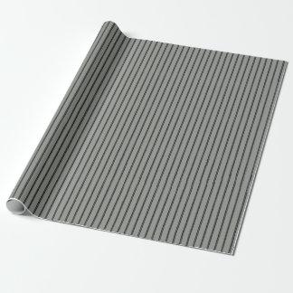 Papier Cadeau Métiers piquants de rayures de fil
