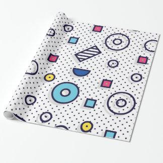 Papier Cadeau Motif d'amusement de l'art de bruit de motif de