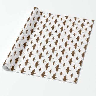 Papier Cadeau Motif de canard transparent