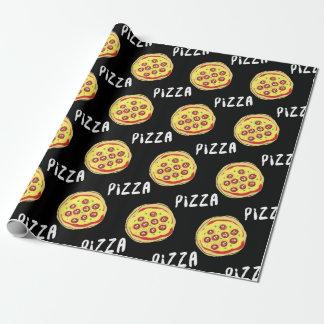 Papier Cadeau Motif de pizza