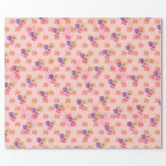 Papier Cadeau Motif floral