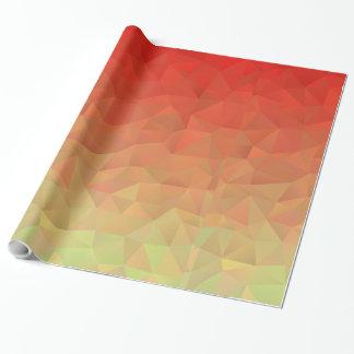 Papier Cadeau Motif impressionnant et unique de polygone