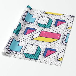 Papier Cadeau Motifs géométriques d'amusement de l'art de bruit