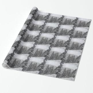 Papier Cadeau Neige du Colorado