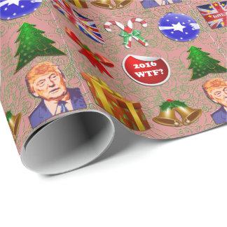 Papier Cadeau Noël 2016 fou