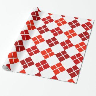 Papier Cadeau Nuances de papier d'emballage modelé par Jacquard
