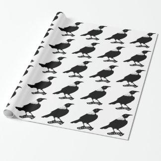 Papier Cadeau Oiseau d'indigène de Tui | Nouvelle Zélande
