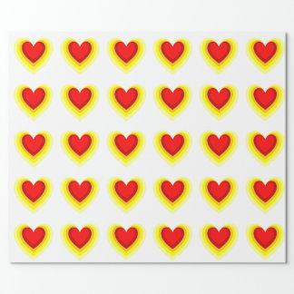 Papier Cadeau Ombre du coeur