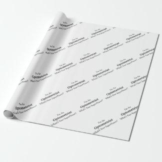 Papier Cadeau Optométriste