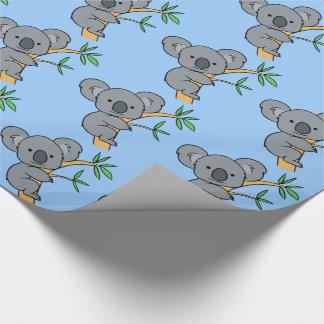 Papier Cadeau Ours de koala mignon