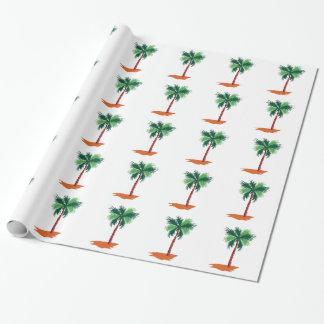 Papier Cadeau Palmier
