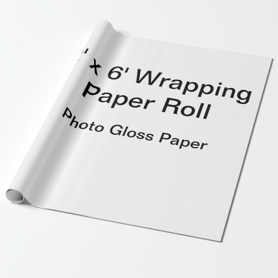 Papier cadeau mat, 76,2 cm x 1,8 m