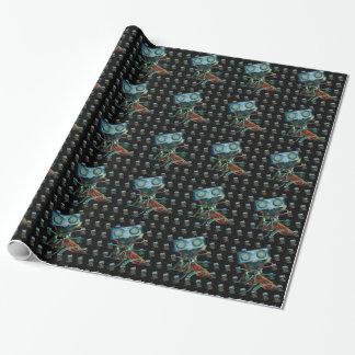 Papier Cadeau Papier d'emballage avec la conception inspirée par
