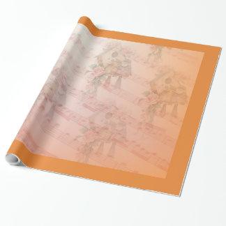 Papier Cadeau Papier d'emballage brillant de chanson douce