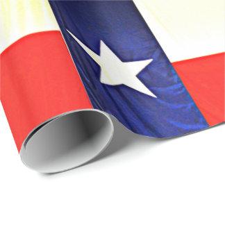 Papier Cadeau Papier d'emballage brillant - drapeau du Texas