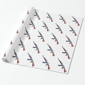 Papier Cadeau Papier d'emballage d'AK47