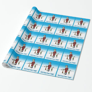 Papier Cadeau Papier d'emballage de bande dessinée drôle de