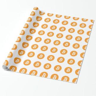 Papier Cadeau Papier d'emballage de Bitcoin pour les masses