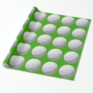 Papier Cadeau Papier d'emballage de boule de golf