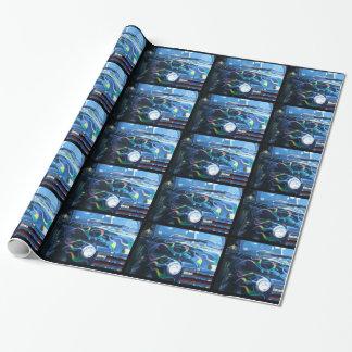 Papier Cadeau Papier d'emballage de camion classique
