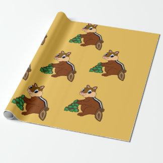 Papier Cadeau Papier d'emballage de conception de tamia
