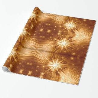 Papier Cadeau Papier d'emballage de conceptions d'étoile