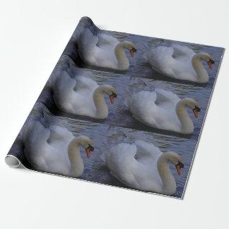 Papier Cadeau Papier d'emballage de cygne