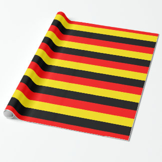 Papier Cadeau Papier d'emballage de drapeau allemand