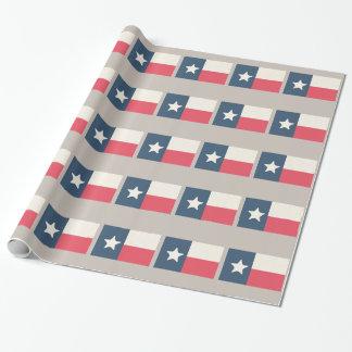 Papier Cadeau Papier d'emballage de drapeau d'état du Texas