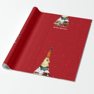 Papier Cadeau Papier d'emballage de Joyeux Noël