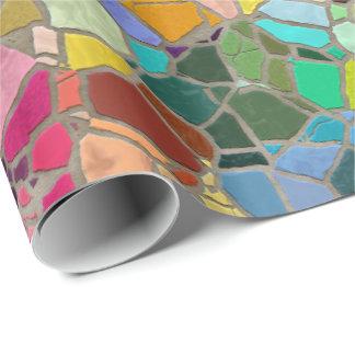 Papier Cadeau Papier d'emballage de la mosaïque 15A