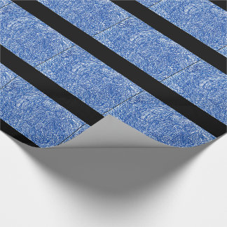 Papier Cadeau Papier d'emballage de labyrinthe
