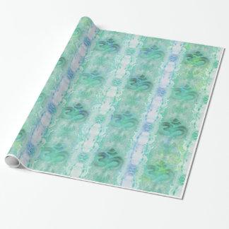 Papier Cadeau papier d'emballage de motif d'aum de l'OM
