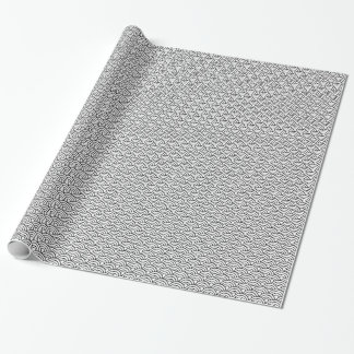Papier Cadeau Papier d'emballage de motif de Japonais de Seigaha
