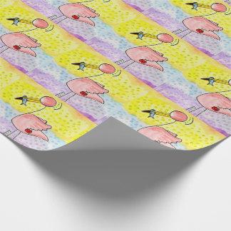 Papier Cadeau Papier d'emballage de Ms.Flamingo