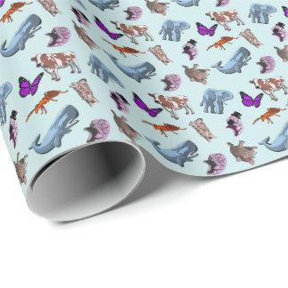 Papier Cadeau Papier d'emballage de poster de animal Tardigrade