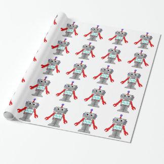 Papier Cadeau Papier d'emballage de robot