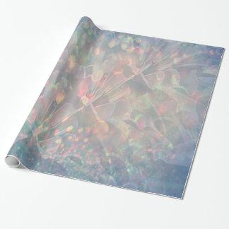 Papier Cadeau Papier d'emballage de scintillement de labyrinthe
