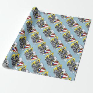 Papier Cadeau Papier d'emballage d'Eagle d'Américain