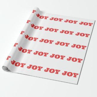 Papier Cadeau Papier d'emballage du point de polka de la joie |