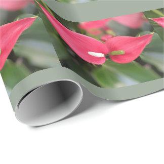 Papier Cadeau Papier d'emballage - jumeaux rouges d'anthure