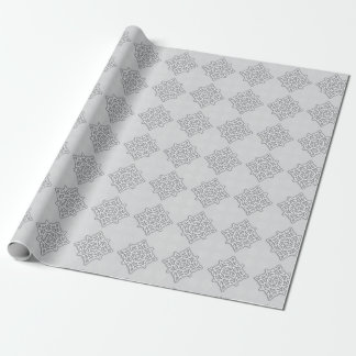 """Papier Cadeau Papier d'emballage mat de noeud celtique, 30"""" x 6'"""