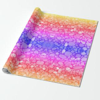 Papier Cadeau Papier d'emballage mat magique de pierres