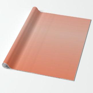 Papier Cadeau Papier d'emballage orange mélangé